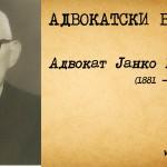 Адвокат Јанко Цаца (1881-1968)