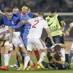 Фудбалска искра запали политички оган