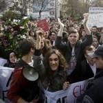 Студентите не попуштаат, нови протести низ Македонија
