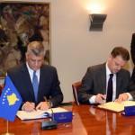 Македонија и Косово потпишаа договор за поттикнување и заштита на инвестициите