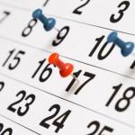 Неработни денови за месец август 2015
