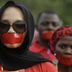 Светот на улица за 200-те киднапирани девојчиња