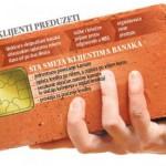 Србија: Герилски акции за блокирање на банките