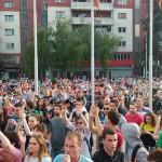 Почнува судењето за деветтемина демонстранти