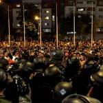 Хелсиншки: Информација за уапсени, приведени и притворени лица по протестите на 5 мај 2015 година