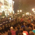 Меѓу приведените за протестите има и студенти од Прилеп