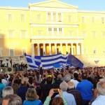 """Грција: """"Тивкото мнозинство"""" демонстрира за ЕУ"""