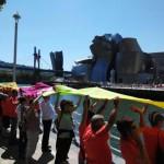 Илјадници баскијци формираа синџир од луѓе барајќи независност