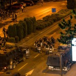 """""""Хјуман рајтс воч"""" со осуда за полициската бруталност на протестите на 5 мај"""