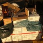 Царината заплени алкохол и цигари во акција во шест града