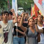 Протести во Истанбул против Ердоган и ИД