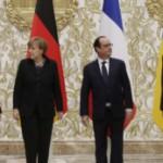 Најавена средба меѓу Путин, Меркел, Порошенко и Оланд