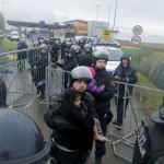 Словенечката полиција употреби солзавец против бегалците, Љубљана ќе испраќа војска на границата