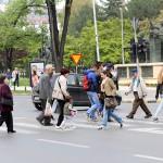 Правила и глоби за пешаците во сообраќајот