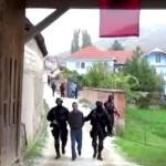 Видео: Уапсени седум лица кои ги помагале терористите во Диво насеље и Гошинце