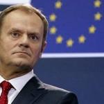Претседателот на Европскиот совет в недела во Скопје