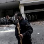 ФОТО: Судир меѓу полицијата и земјоделците во Атина