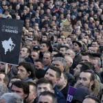 Косовската опозиција протестира на денот на независноста