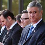 Распаѓање на хрватската влада