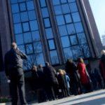 Протест на судската администрација пред Министерството за правда