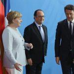 Меркел, Оланд и Ренци ќе разговараат за иднината на ЕУ по Brexit