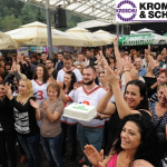 Дождот како дополнителен шарм на традиционалниот КРОШУ ден за вработените во КРОМБЕРГ & ШУБЕРТ