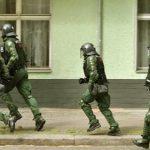 Вооружен судир на германската полиција и десните екстремисти
