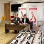 РСБСП донираше техничка опрема за потребите на сообраќајната полиција