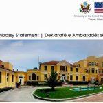 Амбасадата на САД во Тирана им укина визи на судии и на обвинители поради корупција