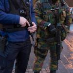 Седум лица приведени во рации во Брисел