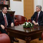 Иванов на средба со претседателот на Уставниот суд, почна консултации со надлежни институции