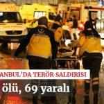 Осум лица уапсени за нападот во ноќниот клуб во Истанбул