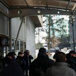 Протест пред ССМ против Митревски, полицијата не ги пушта синдикалците