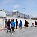 Полициска рација во бегалски камп во Грција