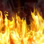 Опожарени возила, домови, ресторан и шума