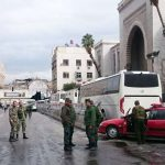 Најмалку 25 убиени во експлозија во суд во Дамаск