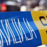 Обвинителството на увид на местото на сообраќајната несреќа во која учествуваа три возила на АРМ