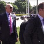 Грујовски оздрави и се појави во судницата (ВИДЕО)