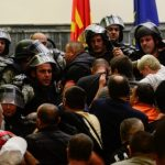 Поднесен обвинителен акт за едно лице за насилство во Собранието на РМ