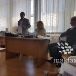 """(ВИДЕО) Обвинетата од Општина Гази Баба за случајот """"ТНТ"""" си го бара пасошот назад"""