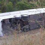 Од понеделник сослушување на патниците и возачот од превртениот автобус