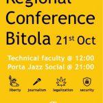 Регионална конференција на Студенти за слобода – Македонија во Битола