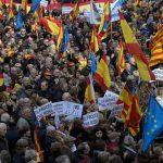 Протести во Барселона, се бара ослободување на двајца сепаратистички лидери