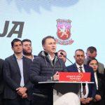 МВР: 500 евра казна за скопјанецот кој со спреј го нападна Груевски