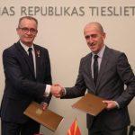 Саљији–Раснач: Меморандум за соработка помеѓу Министерствата за правда на Македонија и Латвија