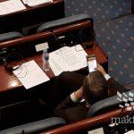 Собранието немаше кворум, законот за јазици ќе се гласа в четврток