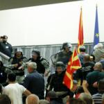 Уапсен еден од петтемина осомничени за упадот во Собранието по кои е распишана потерница