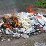 Градот Скопје изрече четири казни за палење отпад