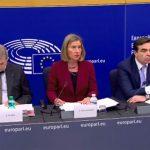 Хан и Могерини: Во ЕУ кога ќе си ги решите споровите со соседите и ќе ги исполните барањата