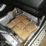 На Деве Баир пронајдени 10 килограми марихуана во возило на албански државјанин